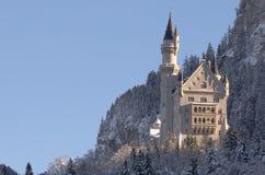 Schloss Neuschwanstein lizenzfreie stockbilder