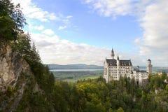 Schloss Neuschwanstein Stockfotos