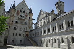 Schloss Neuschwanstein, Bavaria Royalty Free Stock Images