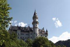Schloss Neuschwanstein, Bavière photos stock