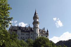 Schloss Neuschwanstein, Baviera Fotos de archivo