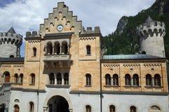 Schloss Neuschwanstein, Baviera Imagenes de archivo