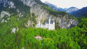 Schloss Neuschwanstein Castle, Germany stock footage