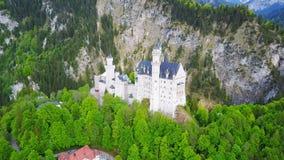 Schloss Neuschwanstein Castle, Germany stock video footage