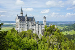 Schloss Neuschwanstein Royalty Free Stock Photo