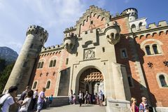 Neuschwanstein Castle, Germany royalty free stock images