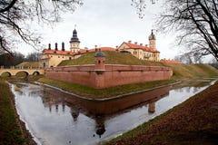 Schloss in Niasvizh. Das Republic Of Belarus. Lizenzfreies Stockbild