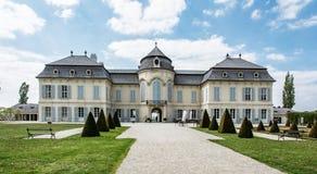 Schloss Niederweiden在奥地利 免版税库存照片