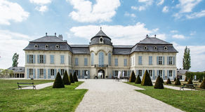 Schloss Niederweiden in Austria. Beautiful Schloss Niederweiden in Austria. Architectural scene. Travel destination Royalty Free Stock Photos
