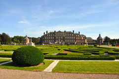Schloss nordkirchen with formal garden Royalty Free Stock Photos