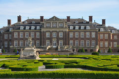 Schloss nordkirchen with formal garden Stock Photos