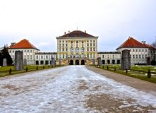 Schloss Nymphenbur Στοκ εικόνα με δικαίωμα ελεύθερης χρήσης