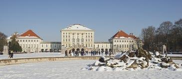 Schloss Nymphenburg von München im Bayern Lizenzfreie Stockfotografie