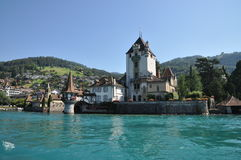 Schloss Oberhofen Royalty Free Stock Photo