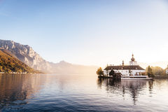 Schloss Orth in Salzkammergut Stock Images