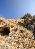 Schloss Palamidi, Nafplio, Griechenland lizenzfreie stockfotografie