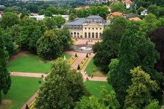 Schloss-Palast von Fulda lizenzfreie stockfotos