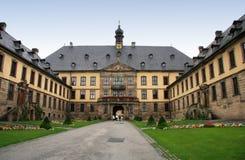 Schloss-Palast von Fulda stockbild