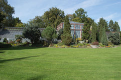 Schloss park the botanic garden Royalty Free Stock Photo