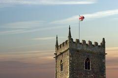 Schloss-Park, Bristol lizenzfreie stockbilder