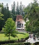 Schloss Pelisor und Peles in Rumänien Lizenzfreies Stockfoto