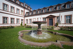 Schloss Philippsruhe Fountain Stock Photo
