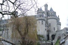 Schloss Pierrefonds Lizenzfreies Stockfoto