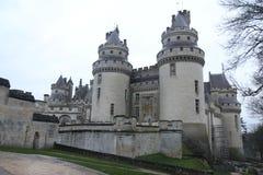 Schloss Pierrefonds Lizenzfreie Stockfotos