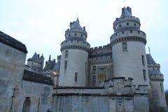 Schloss Pierrefonds Stockfoto