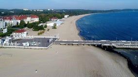 Schloss Pieskowa Skala nahe Krakau, Polen stock video footage