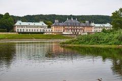 Schloss Pillnitz em Dresden, Alemanha Foto de Stock