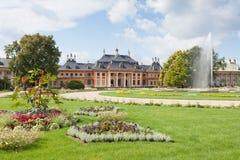 Schloss Pillnitz. Within the garden of Schloss Pillnitz Stock Photos