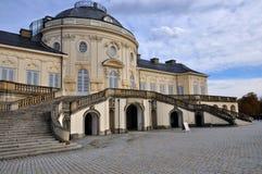 schloss podwórzowa fasadowa samotność Stuttgart obrazy stock
