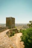 Schloss in Portugal Lizenzfreies Stockbild