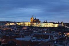 Schloss in Prag Stockfotografie