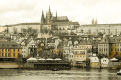 Schloss Prags Tscheche Lizenzfreies Stockbild
