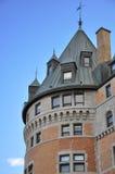 Schloss in Quebec Lizenzfreies Stockfoto