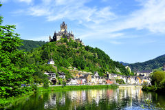 Schloss Reichsburg Stockfotos
