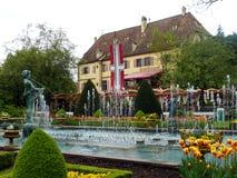 Schloss-restaurang Arkivfoto