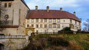 Schloss Rheda - Rheda-Wiedenbrà ¼ ck, Kreis Gà ¼tersloh, Nordrheinwestfalen, Deutschland/Tyskland Arkivfoto