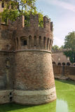 Schloss Rocca Sanvitale Fontanellato, Italien, Emilia-Romagna Regio stockbild