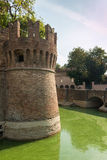Schloss Rocca Sanvitale Fontanellato, Italien, Emilia-Romagna Regio lizenzfreies stockbild
