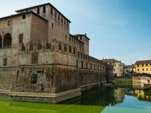 Schloss Rocca Sanvitale Fontanellato, Italien, Emilia-Romagna Regio stockfoto