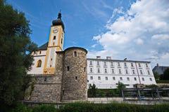 Schloss Rothschild - slott i Österrike Arkivbild