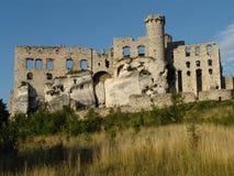 Schloss-Ruinen Lizenzfreie Stockbilder