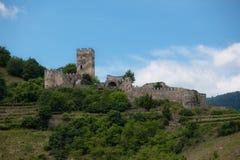 Schloss-Ruinen Lizenzfreies Stockbild