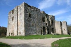 Schloss-Ruinen. Clifford Kontrollturm, Barden, Yorkshire. Lizenzfreie Stockbilder