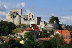 Schloss ruiniert Rabi Lizenzfreie Stockfotografie