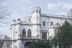 Schloss in Rusovce Slowakei stockfotografie