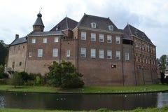 Schloss in ` s Heerenberg in Achterhoek Lizenzfreies Stockfoto